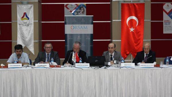 Ortadoğu ve Kafkaslarda Bölgesel Güvenliği Tehdit Eden Zorluklar ve Riskler Sempozyumu - Sputnik Türkiye