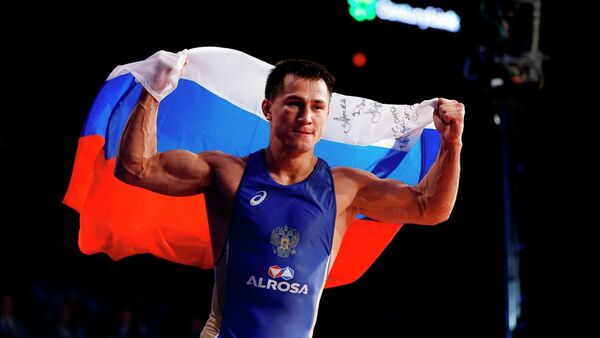 Rus güreşçi Roman Vlasov - Sputnik Türkiye