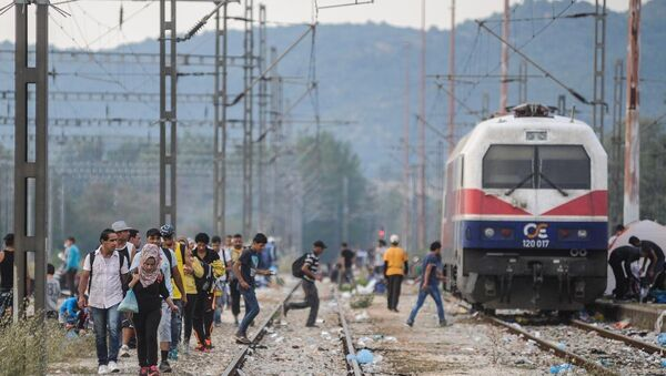 Avrupa'da göçmen krizi - Sputnik Türkiye