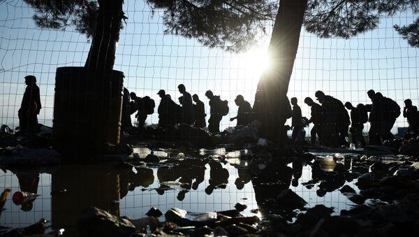 Macaristan'daki göçmen dramı - Sputnik Türkiye