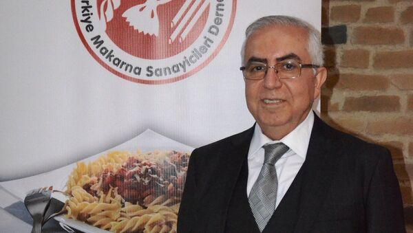 Türkiye Makarna Sanayicileri Derneği (TMSD) Yönetim Kurulu Başkanı Abdülkadir Külahçıoğlu - Sputnik Türkiye
