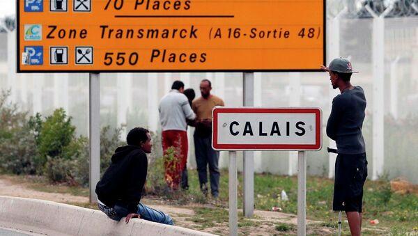 Fransa - İngiltere, sığınmacı, Calais - Sputnik Türkiye