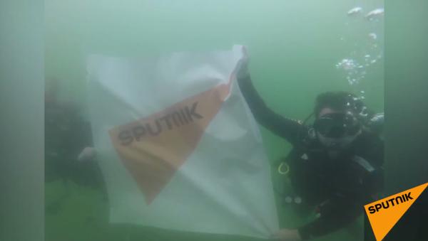 Sputnik Kadıköy'de  bayrağının dikme törenini düzenlendi - Sputnik Türkiye