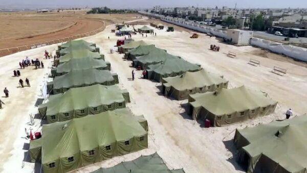 Rusya, Suriye'de sığınmacı kampı kurdu - Sputnik Türkiye