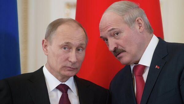Aleksandr Lukaşenko & Vladimir Putin - Sputnik Türkiye