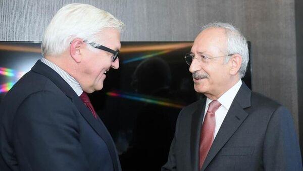 Kemal Kılıçdaroğlu & Frank Walter Steinmeier - Sputnik Türkiye