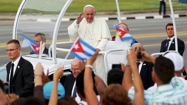 Papa Francis Küba'da - Sputnik Türkiye