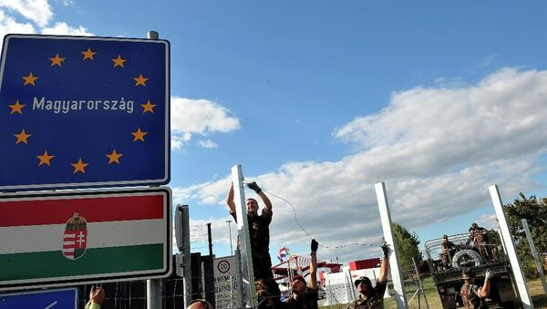 Macaristan - sığınmacı - göçmen - sınır - Sputnik Türkiye