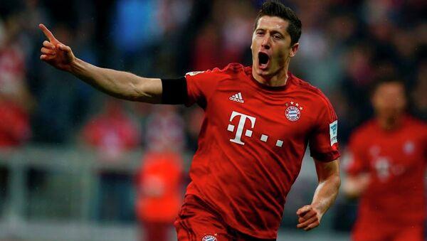 Bayern Münih futbolcusu Robert Lewandowski - Sputnik Türkiye