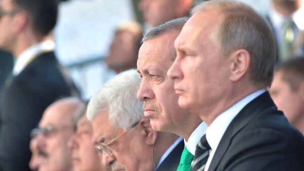 Recep Tayyip Erdoğan ve Vladimir Putin - Sputnik Türkiye