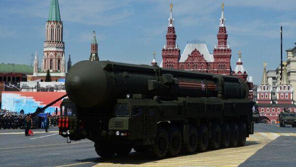 Bulava SLBM balistik füze donanımı - Sputnik Türkiye