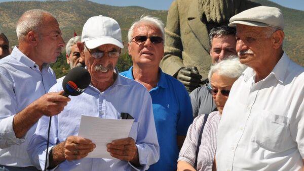Tunceli'de Alevi dedelerinden barış için açlık grevi - Sputnik Türkiye