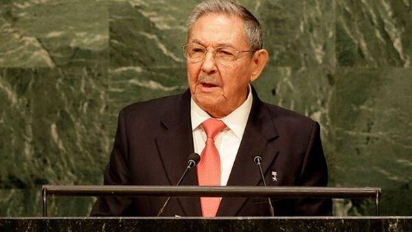 Raul Castro - Sputnik Türkiye