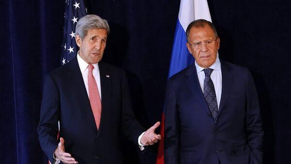 John Kerry - Sergey Lavrov - Sputnik Türkiye
