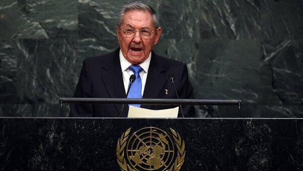 Küba Devlet Başkanı Raul Castro - Sputnik Türkiye