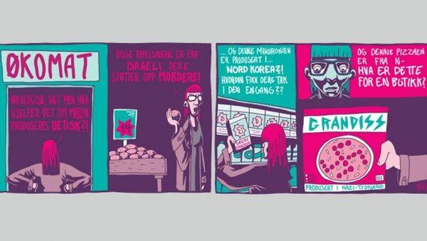 Dagbladet karikatürü - Sputnik Türkiye