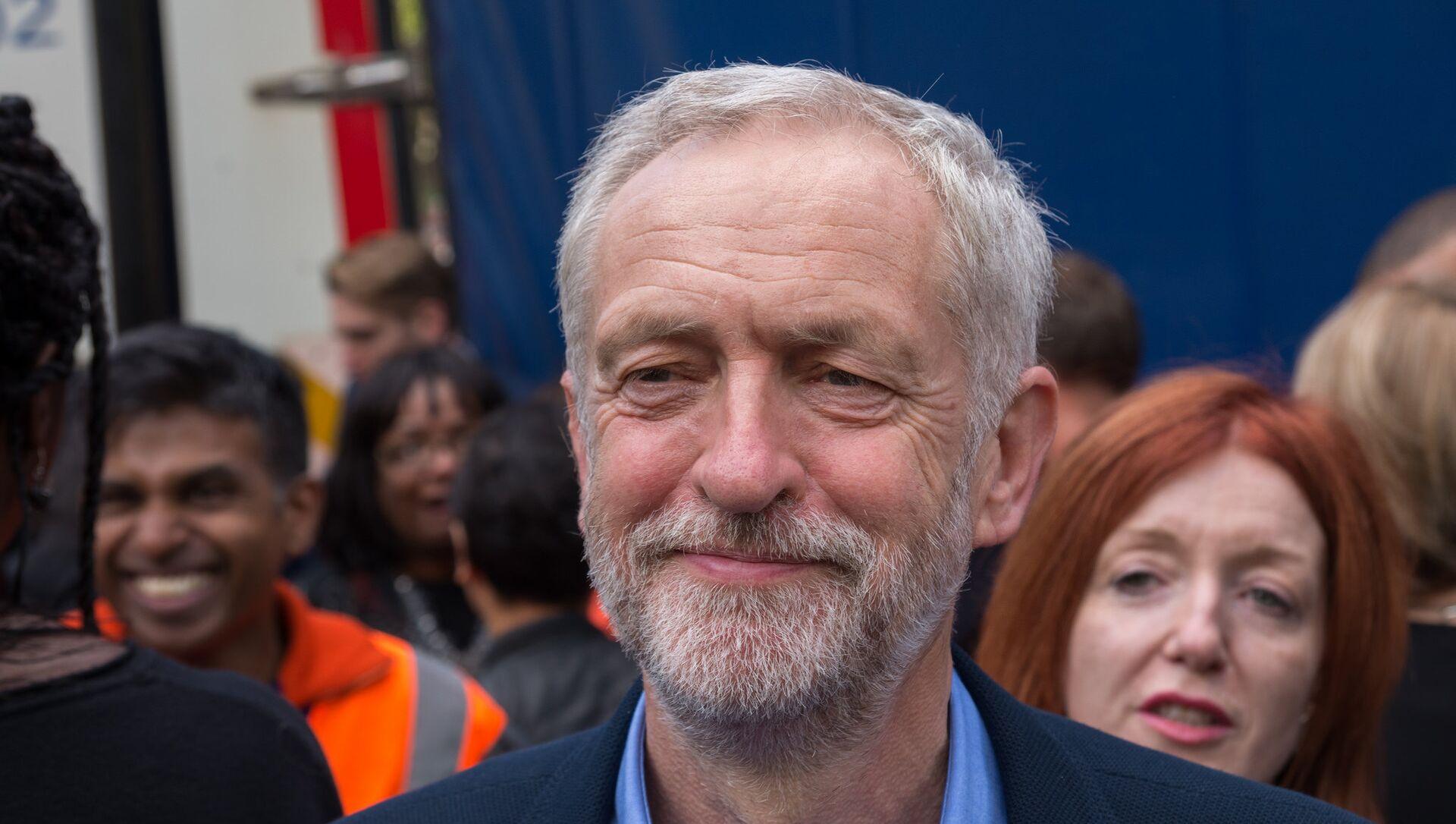 Jeremy Corbyn - Sputnik Türkiye, 1920, 17.06.2021