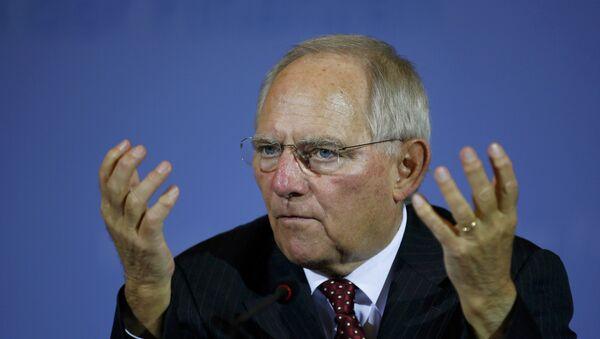 Alman Maliye Bakanı Wolfgang Schäuble - Sputnik Türkiye