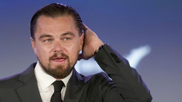 Amerikalı aktör Leonardo DiCaprio. - Sputnik Türkiye