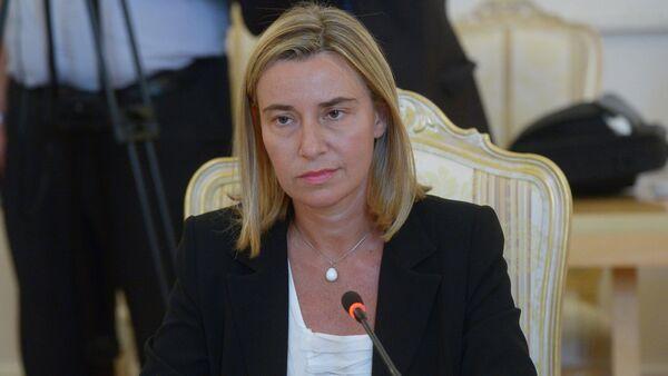 AB Dışişleri Yüksek Temsilcisi Federica Mogherini - Sputnik Türkiye