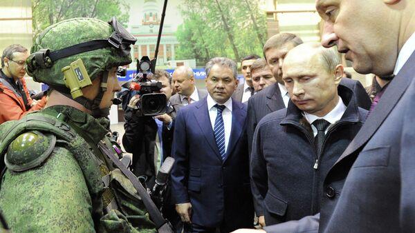 Putin, Ratnik modern ordu cihazını inceledi - Sputnik Türkiye