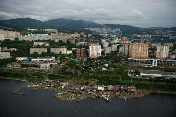 Vladivostok manzarası. - Sputnik Türkiye