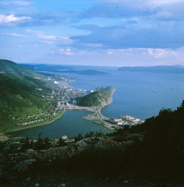 Petropavlovsk-Kamçatski ve Avaçinskaya Körfezi. - Sputnik Türkiye