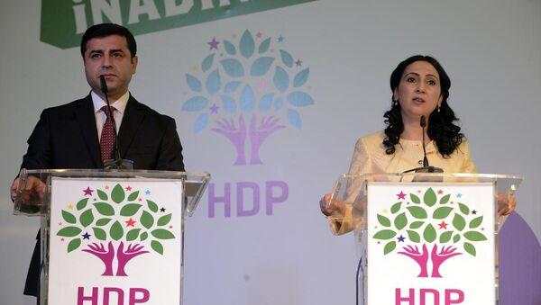 HDP'nin seçim bildirgesini açıkladı - Sputnik Türkiye