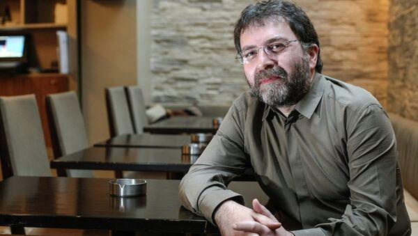 Gazeteci-yazar Ahmet Hakan - Sputnik Türkiye