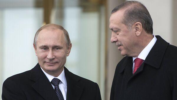 Vladimir Putin ve Recep Tayyip Erdoğan - Sputnik Türkiye