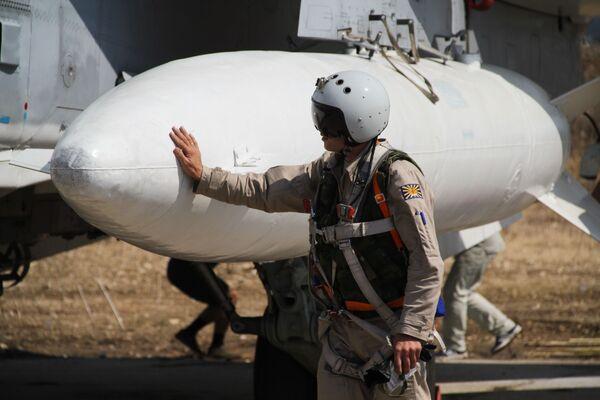 Suriye'deki Rus jetleri - Sputnik Türkiye