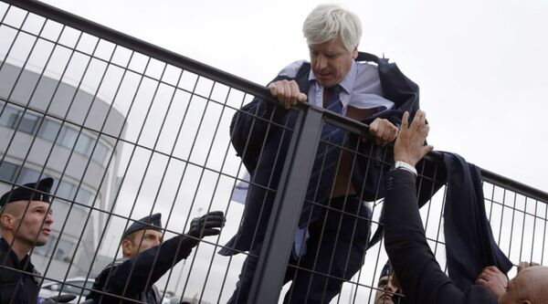 Air France yöneticileri, işçilerden dayak yedi - Sputnik Türkiye