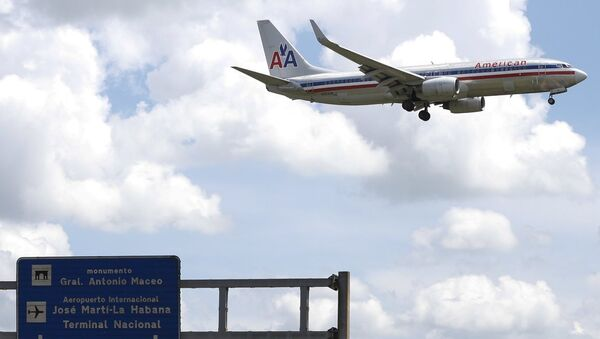 American Airlines- uçak - Sputnik Türkiye