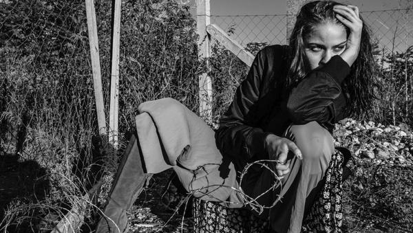 göçmen moda çekimi - Sputnik Türkiye