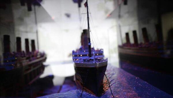 Titanic'in tarihi objeleri Madrid'de sergileniyor - Sputnik Türkiye