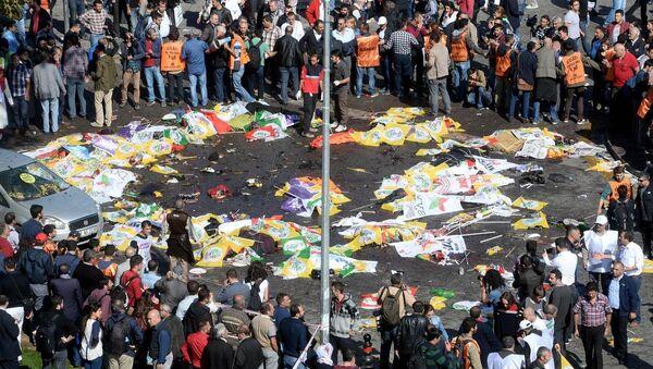 Ankara'daki patlama - Sputnik Türkiye