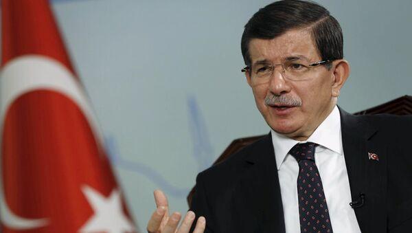 Başbakan Ahmet Davutoğlu Reuters'a röportaj verdi - Sputnik Türkiye