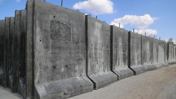 Suriye sınır duvar - Sputnik Türkiye