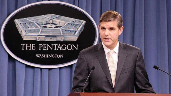 ABD Savunma Bakanlığı Sözcüsü Peter Cook - Sputnik Türkiye