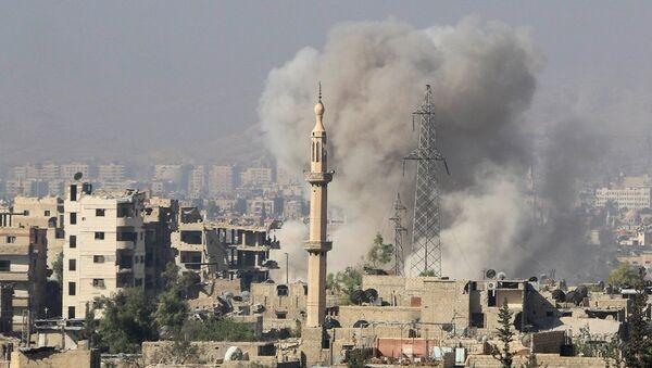 Suriye çatışma - Sputnik Türkiye