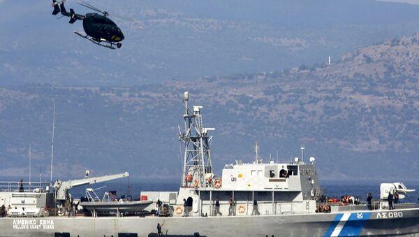 Yunan Sahil Güvenlik - Sputnik Türkiye