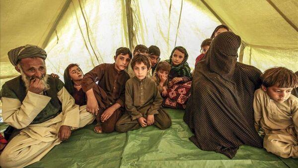Afganistan'da mülteci dramı - Sputnik Türkiye