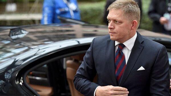 Slovakya Başbakanı Robert Fico - Sputnik Türkiye