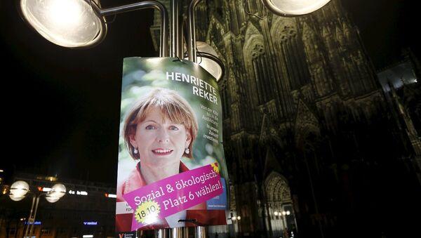 Köln Belediye Başkanı Henriette Reker - Sputnik Türkiye