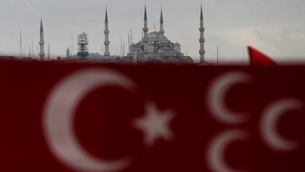 Türkiye - Cami - Bayrak - Sputnik Türkiye