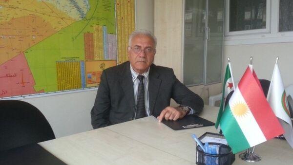 Suriye Muhalif ve Devrimci Güçler Koalisyonu üyesi Fuad Eliko - Sputnik Türkiye