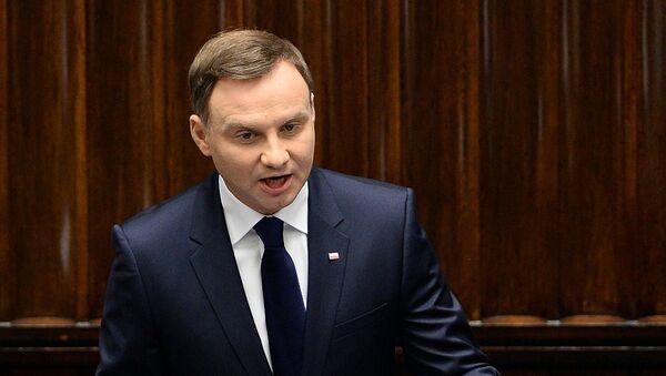Polonya Devlet Başkanı Andrey Duda - Sputnik Türkiye