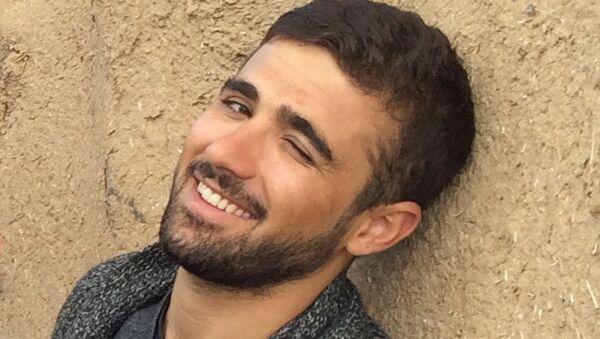 Türkiye'de tutuklı Iraklı Kürt gazeteci Rasool Mohammed - Sputnik Türkiye