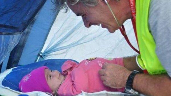 Suriyeli bebek - Sputnik Türkiye