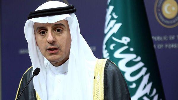 Suudi Arabistan Dışişleri Bakanı Adil El-Cubeyr - Sputnik Türkiye